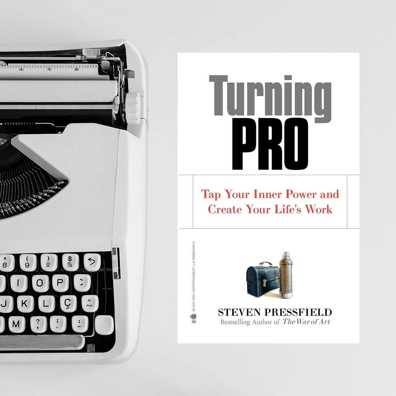 STEVEN PRESSFIELD – TURNING PRO